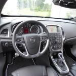Das Interieur des Opel Astra OPC