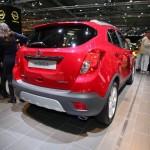 Die Heckansicht des Opel Mokka