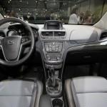 Das Interieur des Opel Mokka