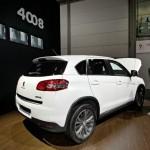 Der neue Peugeot 4008 auf der AMI