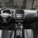 Der Innenraum des Peugeot 4008
