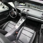 Der Innenraum des Porsche Boxster