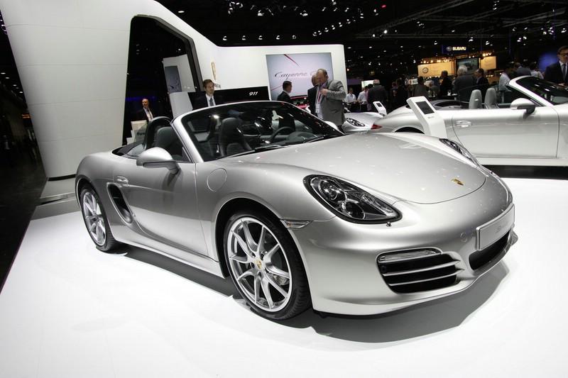 Der neue Porsche Boxster in Silber