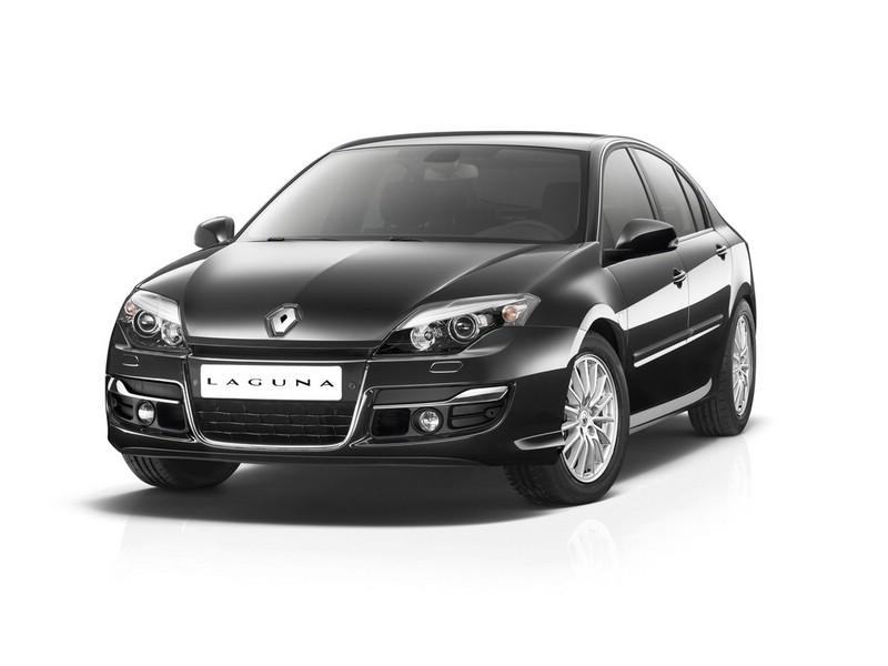 Renault Laguna-Sondermodell Sportway in schwarz