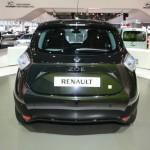 Heckansicht des neuen Renault Zoe