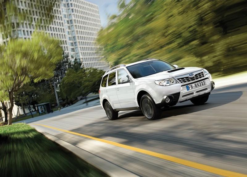 Subaru Forester als Sondermodell Edition White