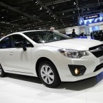 Neuer Subaru Impreza in Weiss
