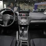 Dr Innenraum des neuen Subaru Impreza