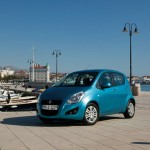 Suzuki Splash in Blau Facelift 2012
