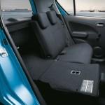 Platzangebot bei umgeklappten Sitzen im Suzuki Splash