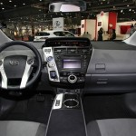 Der Innenraum des Toyota Prius +
