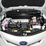 Der Motor des Toyota Prius +