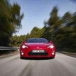 Toyota GT86 in der Frontansicht (Grill)