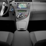 Die Mittelkonsole des Toyota Prius Plug-in Hybrid