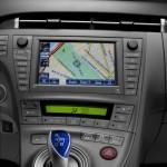 Das Multimedia-Navigationssystem Toyota Touch Pro im Prius
