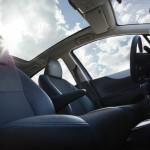 Der Innenraum des Toyota Yaris Hybrid