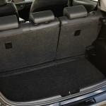 Der Kofferraum des Toyota Yaris Hybrid