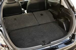 Der Laderaum des Toyota Yaris Hybrid