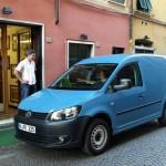 Volkswagen Caddy in Blau