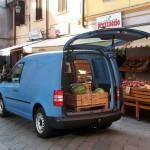 Volkswagen Caddy - Heckklappe geöffnet