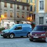 Volkswagen Caddy in den Varianten Kombi und Pkw