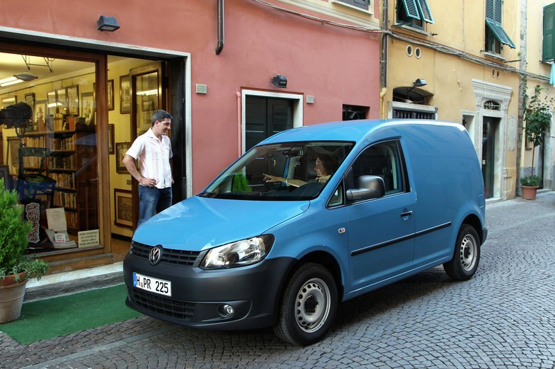 Volkswagen Caddy in Blau