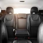 Die hinteren Sitze des Volvo V40