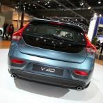 Das Heck des neuen Volvo V40
