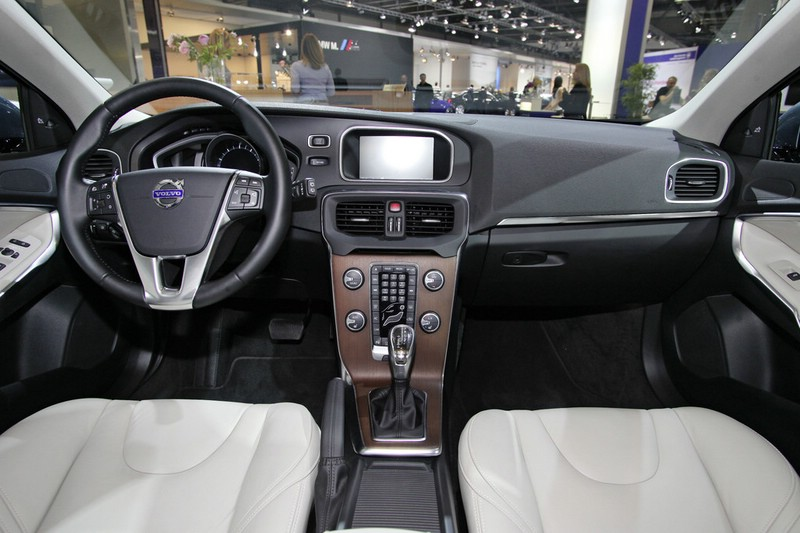 Der Innenraum des Volvo V40