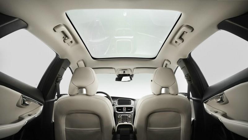 Das Panoramadach des Volvo V40