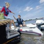 Yamaha YAM 310 S auf dem Wasser
