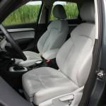 Die Sportsitze des Audi Q3 quattro 2.0 TSFI