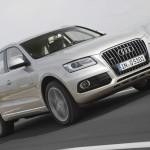 Audi Q5 2012 in der Front- Seitenansicht