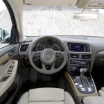 Das Cockpit des neuen Audi Q5