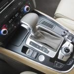 Die Mittelkonsole des Audi Q5 2012