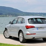 Audi Q5 hybrid quattro in der Heckansicht