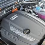 Der Motor des Audi Q5 hybrid quattro