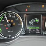 Der Powermeter des Audi Q5 hybrid quattro