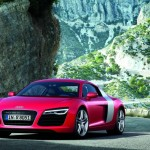 Audi R8 Facelift 2012 inRot
