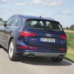 Audi SQ5 TDI in der Heckansicht