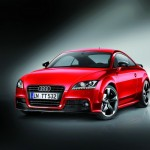 Editionsmodell Audi TT Coupe S Line Competition in Rot