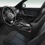BMW 1er Innenraum in schwarz