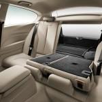 Die hinteren Sitze im BMW 1er