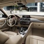 Das armaturenbrett der neuen BMW 3er Touring
