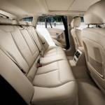 Die hinteren Sitze im BMW 3er Touring
