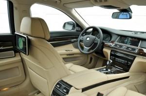 Der Innenraum des BMW 750 Li