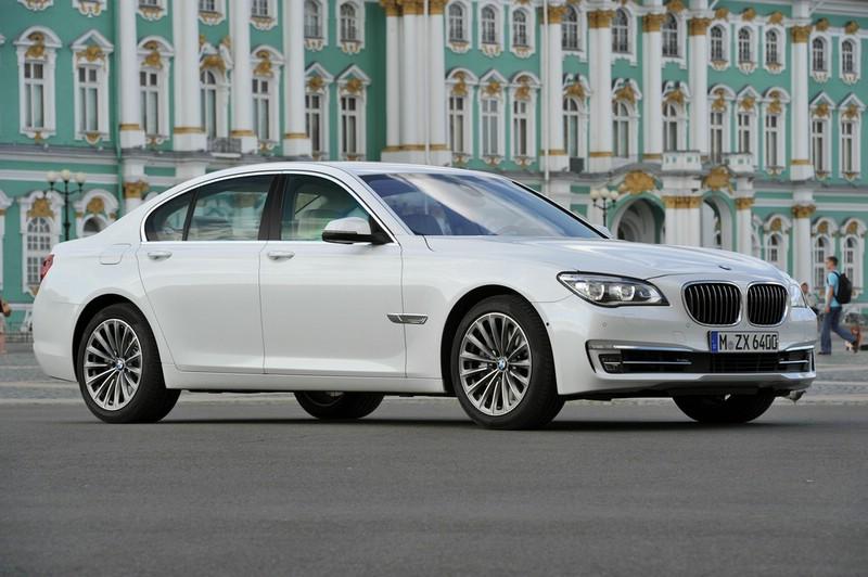 Der neue BMW 750i in Weiss (Modell 2012)