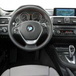 BMW Active Hybrid 3 Interieur: Cockpit, Lenkrad, Tacho