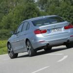 Neuer BMW Active Hybrid 3 in der Heckansicht
