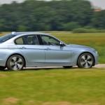 Der neue BMW Active Hybrid 3 in der Seitenansicht